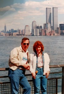 Twin Towers Me & Dad 1986